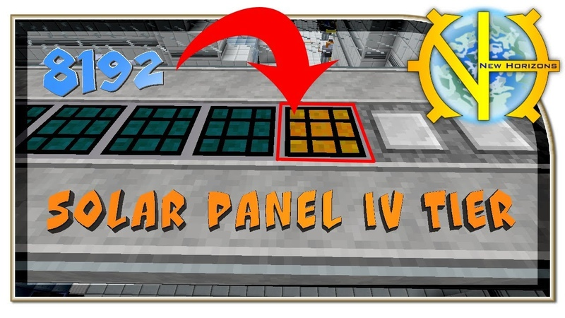 Solar panel IV Tier GT New Horizons 157