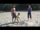 А что это мы на пляже делали