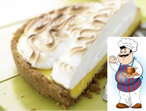 торт - безе с лаймовым кремом. 175 г сливочного печенья 120 г масла 5 яиц 400 мл сгущенного молока 5 лаймов 1 щепотка соли 50 г сахара 1 пакетик пекарский порошок печенье положить в плотный