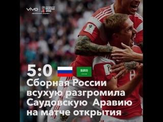 Итоги первой недели Чемпионата мира по футболу FIFA 2018™