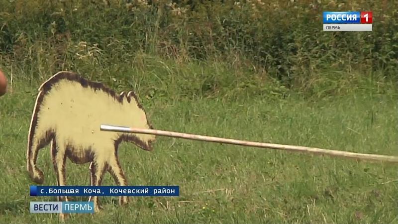 Путь охотника: школьников учили метать копье и ловить рыбу острогой