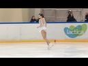 Виктория САФОНОВА ПП Финал Кубка России Ростелеком 2018 201 Дeвушки, KMC