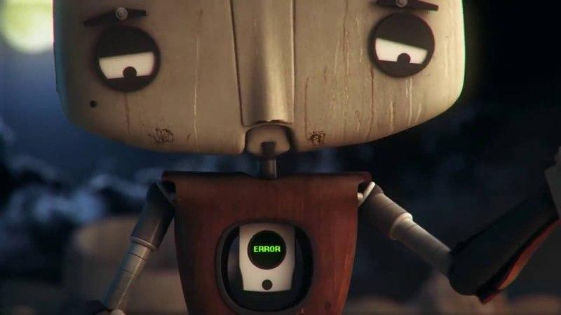 Ущерб HD Короткометражный мультик про робота