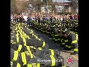 Посвящение новобранцев в пожарные. Нью Йорк.