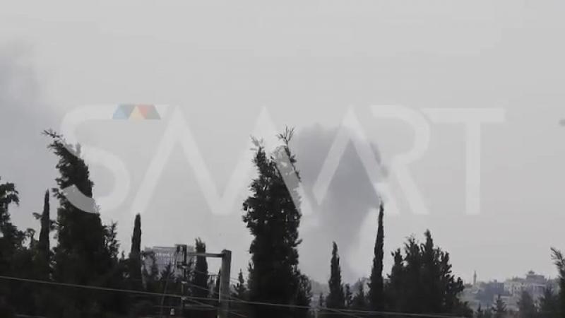Война в Сирии. Авиаудары по боевикам в провинции Алеппо
