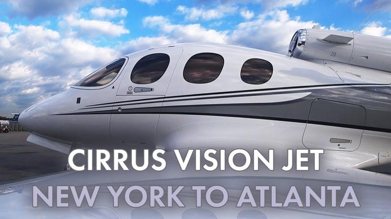 Cirrus Vision Jet - New York to Atlanta - KHPN KPDK