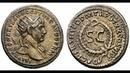 Семис 116 г Монета Траяна Древний Рим Semis 116 AD