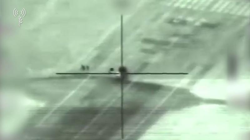 ВВС ЦАХАЛа атакуют радар сирийских ПВО Панцирь-С1 (SA22)