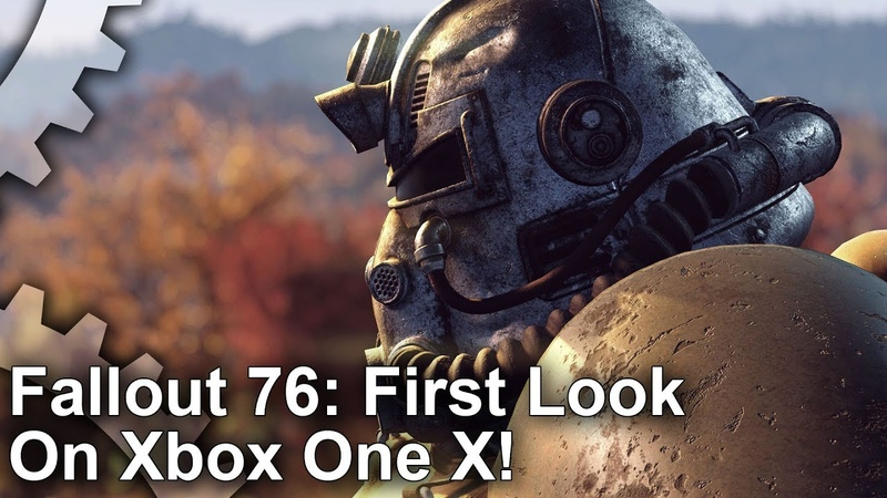 [4K] Fallout 76 Xbox One X First Look: The Creation Engine Evolved?