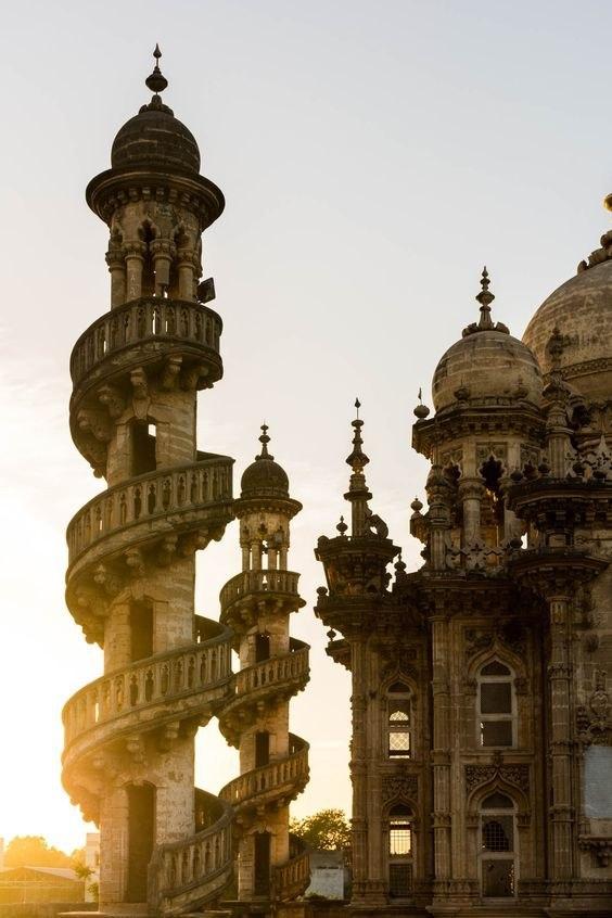 Mohabbat Maqbara Palace in Junagadh, Gujarat, India