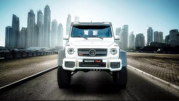 Brabus построил Mercedes-AMG G 63 с 600-миллиметровым клиренсом