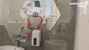 Зеркальное Панно в виде Сот Городская Стоматология Чебоксары