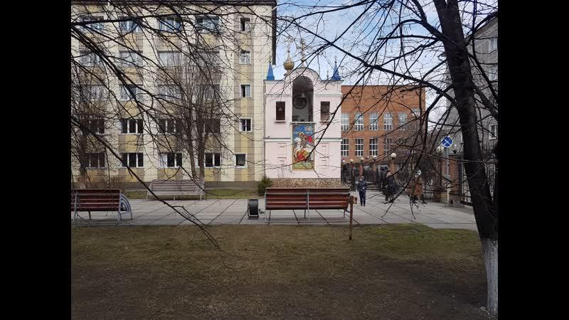 Протоиерей Евгений Суркин храм великомученика Георгия Победоносца г Новокузнецк 24 02 2019