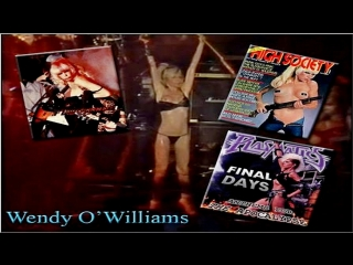 Wendy O Williams - Live From London