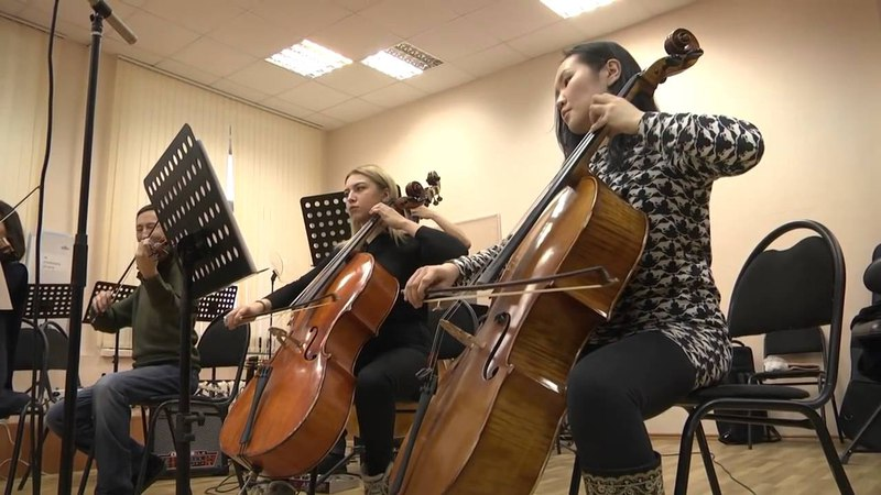 Rob Dougan Clubbed to death Yakutian Philharmonic Cover of Matrix Movie OST