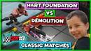 WWE 2K19 Classic Matches - Hart Foundation vs Demolition (Tag Team Championship Match)