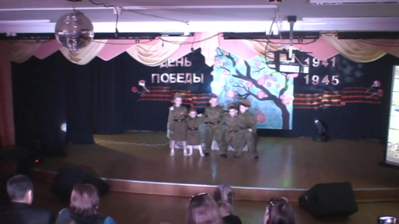8 мая 2018 г. Праздничный концерт «Дорогою Победы»