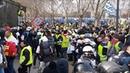 Gilets jaunes acte 13 : incidents devant l'Assemblée Nationale
