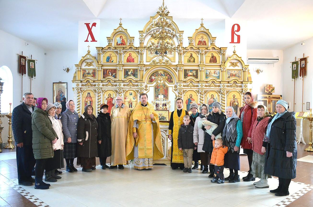 Миссионерская литургия в храме святого благоверного князя Александра Невского города Темрюка
