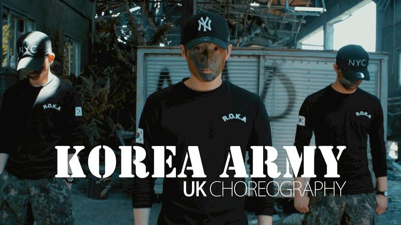 KOREA ARMY | UK PROMOTION DANCE VIDEO | DJ tjaey - Look like you