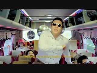 El baile del caballo - psy gangnam style (subtitulado espanol)