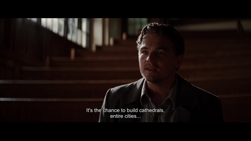 Its the chance to build cathedrals, entire cities...
