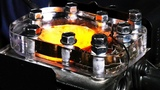 See Through Engine - 4K Slow Motion Visible Combustion see through engine - 4k slow motion visible combustion