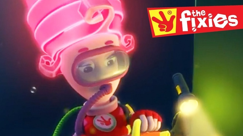 The Fixies ★ The Aquarium and The Drum ★ Fixies English 2017 Cartoon For Children