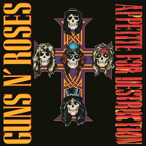 Guns N' Roses альбом Appetite For Destruction (Deluxe Edition)