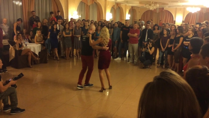 Vladimir Volkov Inna Gerasimenko at KizMi fest 09 2017 Rostov on Don