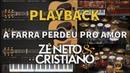 Zé Neto e Cristiano - A FARRA PERDEU PRO AMOR - Playback - Versão Vithor Hugo Studios