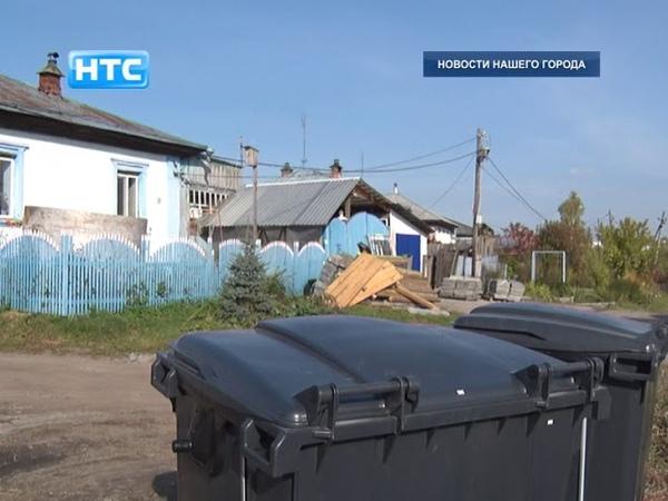 В Ирбите установлены новые мусорные контейнеры