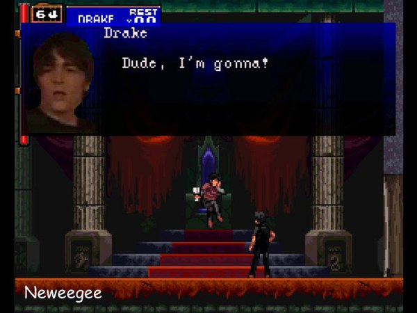Drake and Josh get stuck in Castlevania