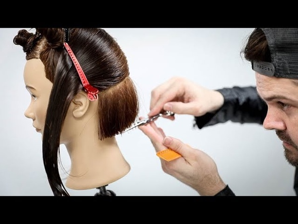 Why am I Cutting a Bob Haircut using Horizontal and Vertical Sections | MATT BECK VLOG S2 20