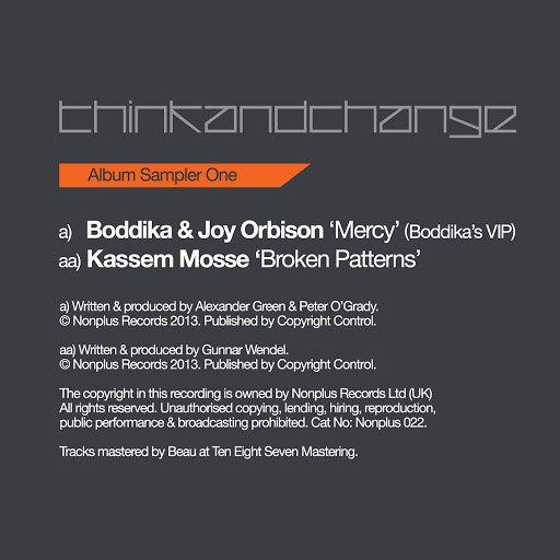 JOY ORBISON альбом Think & Change LP (Sampler 1)