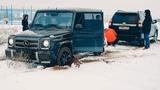 Поспорил MERCEDES G63 AMG c TOYOTA PRADO и  AUDI Q8 , AUDI Q7 , VW Touareg.