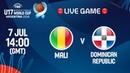LIVE 🔴- Mali v Dominican Republic - FIBA U17 Basketball World Cup 2018