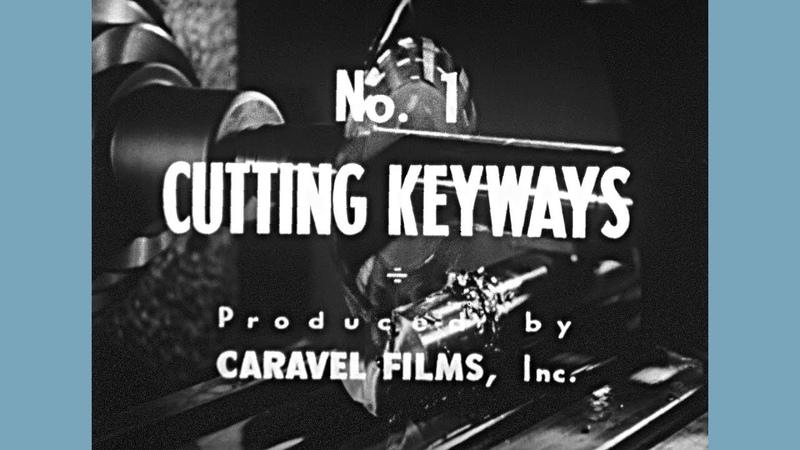 No. 1 - Cutting Keyways - 1941