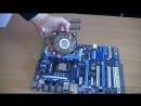 Как снять кулер процессор Intel и оперативную память
