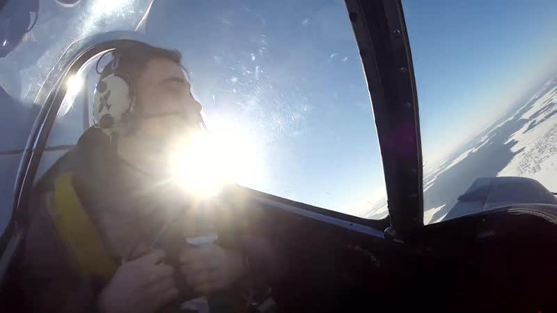 Пилотаж на самолете ЯК-52