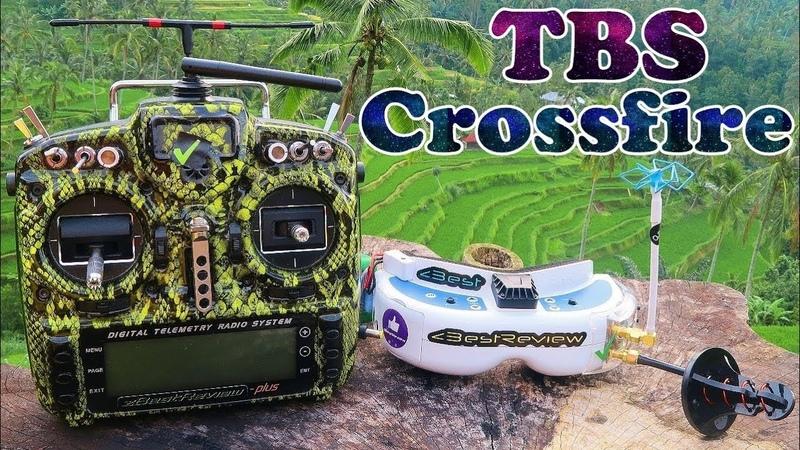 ✔ TBS Crossfire Micro - Теперь Летаем Далеко! Flymod.net