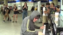 Hoody Calms Stressed Crowd With Pulsating Piano