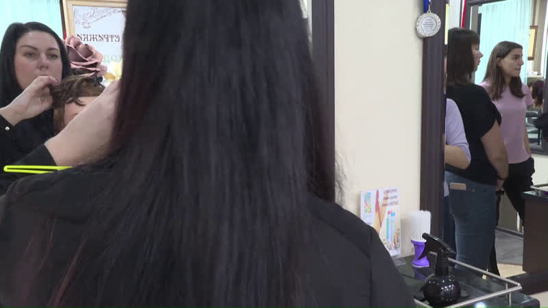 Тестирование парикмахерского тренажера.