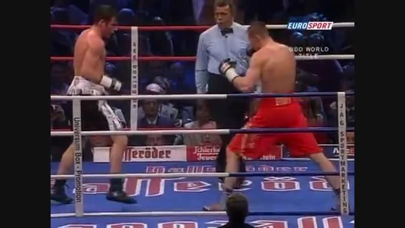 Джо Кальзаге vs Марио Файт полный бой 7 05 2005