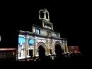 Круг света 2018 Коломенское видеомэппинговое шоу Спящая красавица на фасаде здания бывшей царской резиденции