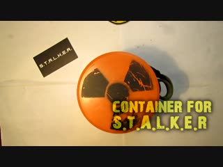 [Airsoft STALKER] How to make container for artifacts _ [СТАЛКЕР] Контейнер для