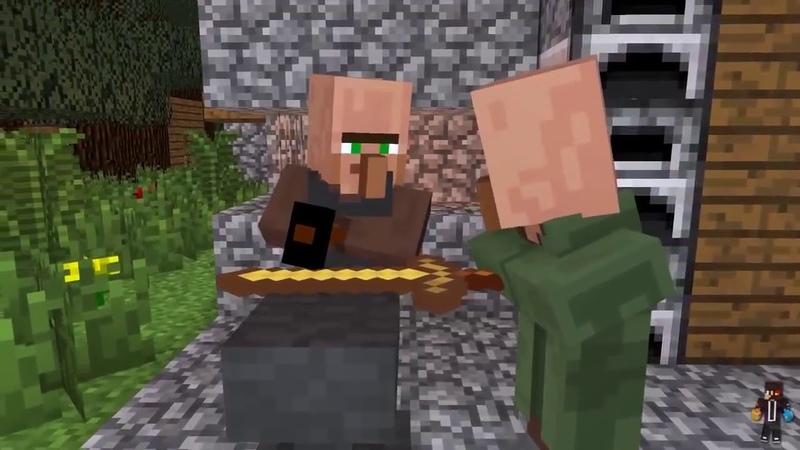 [ Movie Minecraft ] : Cuộc sống của dân làng và zombie