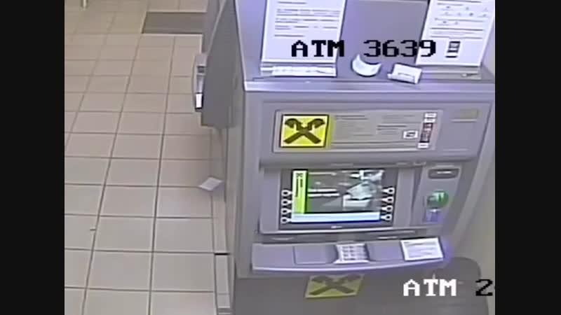 Ограбление банкомата в Москве