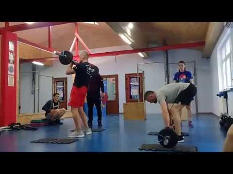 CrossFit-заруба в Феодосии 15.04.2018. Мужчины А. 2 задание
