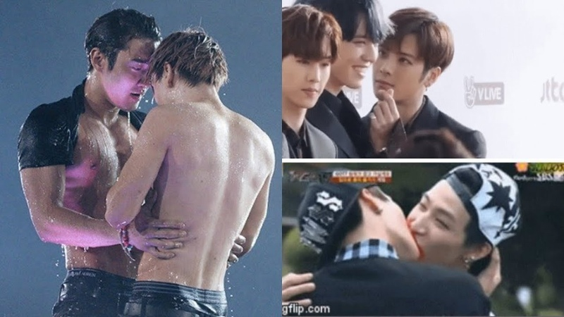Kpop Idols classic skinship that make fans blushed embarrassingly
